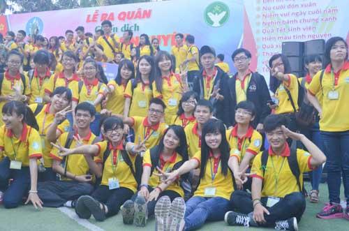 TP.HCM: Sôi nổi chiến dịch Xuân tình nguyện 2016-9
