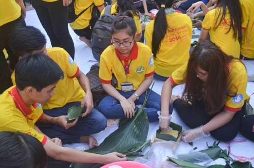 TP.HCM: Sôi nổi chiến dịch Xuân tình nguyện 2016-17