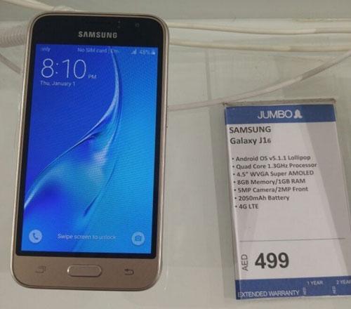 Samsung âm thầm ra mắt smartphone Galaxy J1 phiên bản 2016-5