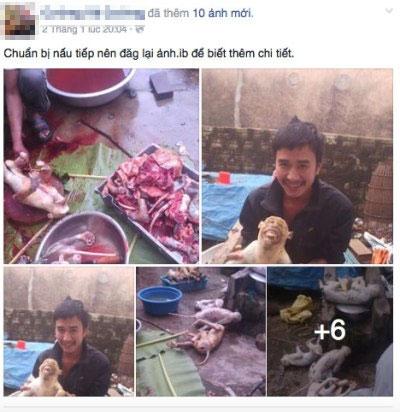 Không phạt được người tung ảnh giết khỉ dã man lên Facebook-1