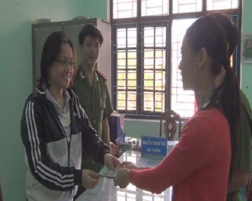 Cô giáo mầm non trả lại 40 triệu đồng cho người mất-1