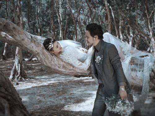Ảnh cưới lãng mạn của Trang Nhung và ông xã đại gia-13
