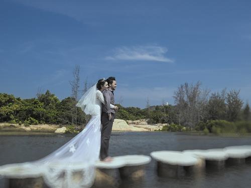 Ảnh cưới lãng mạn của Trang Nhung và ông xã đại gia-15