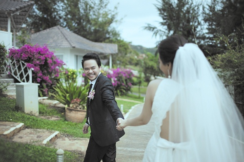 Ảnh cưới lãng mạn của Trang Nhung và ông xã đại gia-2