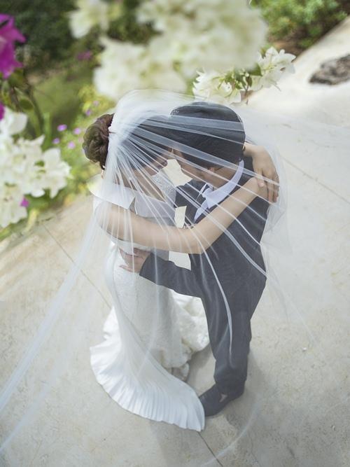 Ảnh cưới lãng mạn của Trang Nhung và ông xã đại gia-6