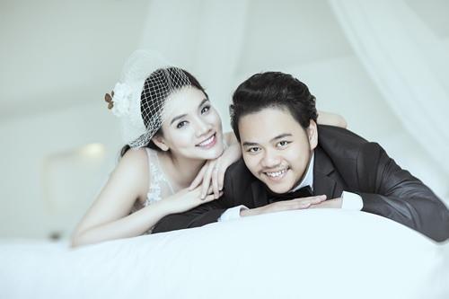 Ảnh cưới lãng mạn của Trang Nhung và ông xã đại gia-7