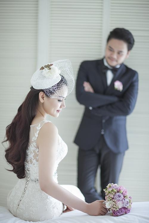 Ảnh cưới lãng mạn của Trang Nhung và ông xã đại gia-8