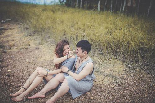 """Ảnh cưới độc đáo của cô """"người rừng"""" 9x-14"""