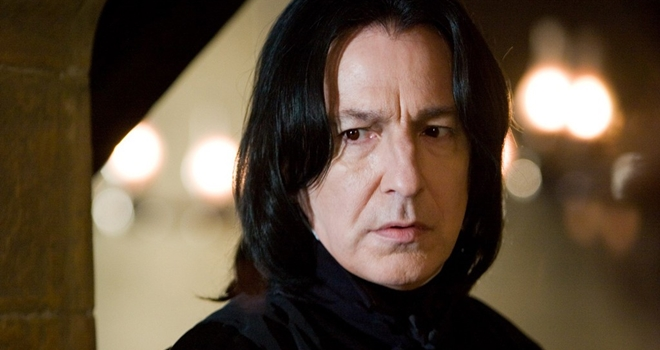 """Rớt nước mắt lá thư chia tay Harry Potter của """"Thầy Snape""""-4"""