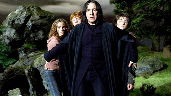 """Rớt nước mắt lá thư chia tay Harry Potter của """"Thầy Snape""""-2"""