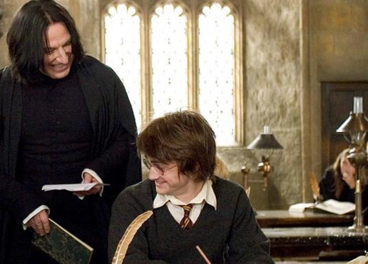 """Rớt nước mắt lá thư chia tay Harry Potter của """"Thầy Snape""""-7"""