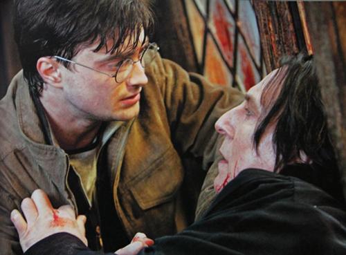 """Rớt nước mắt lá thư chia tay Harry Potter của """"Thầy Snape""""-6"""