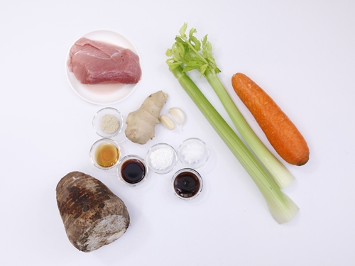 Thịt heo xào khoai môn đơn giản mà ngon-1