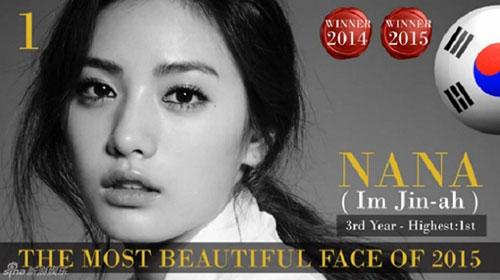 Mỹ nhân Hàn dẫn đầu top 100 người đẹp nhất thế giới 2015-2