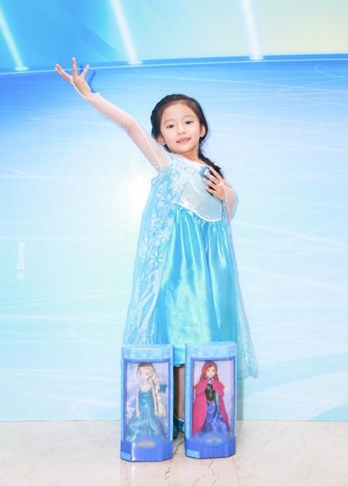 HH Ngọc Diễm lần đầu đưa con gái đi sự kiện-4