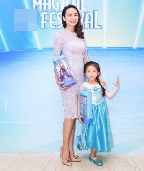 HH Ngọc Diễm lần đầu đưa con gái đi sự kiện-1