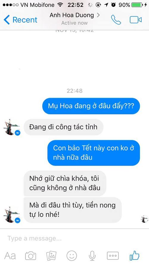 """ran ran"" trao luu nhan tin cho me ""tet nay con khong ve"" - 5"