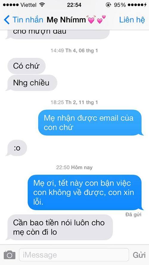 """ran ran"" trao luu nhan tin cho me ""tet nay con khong ve"" - 9"