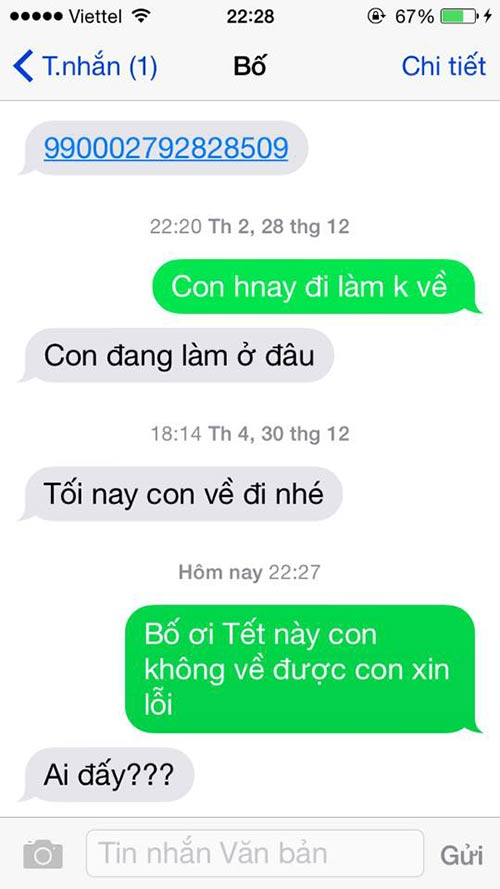 """ran ran"" trao luu nhan tin cho me ""tet nay con khong ve"" - 13"