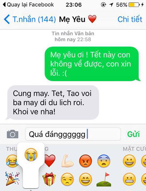 """ran ran"" trao luu nhan tin cho me ""tet nay con khong ve"" - 11"