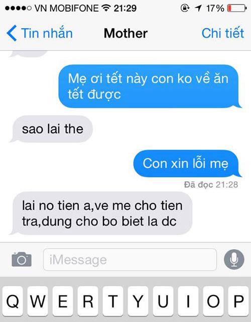 """ran ran"" trao luu nhan tin cho me ""tet nay con khong ve"" - 10"