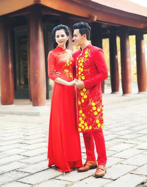 ao dai do tha thuot cung chang don xuan - 5