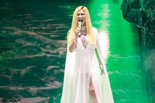 """the remix 2016: huong tram dan dau, noo phuoc thinh """"gay sot"""" - 7"""