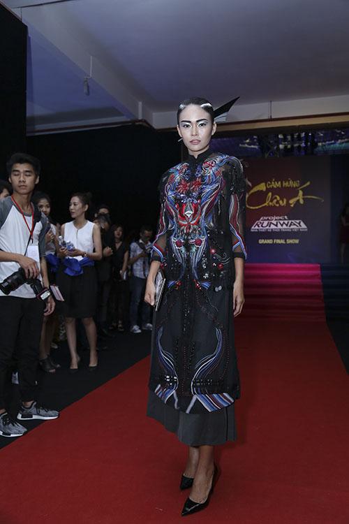 angela phuong trinh hoa nu than tai chung ket project runway - 10