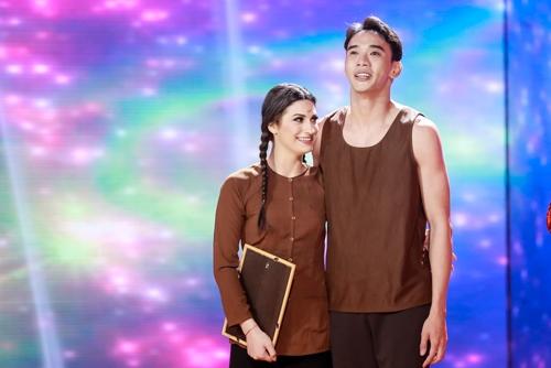 khanh my, trang phap gay an tuong dem mo man bnhv 2016 - 12
