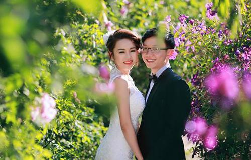 Đẹp mê hồn bộ ảnh cưới ngập tràn sắc hoa ngày xuân-15