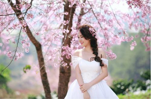 Đẹp mê hồn bộ ảnh cưới ngập tràn sắc hoa ngày xuân-10