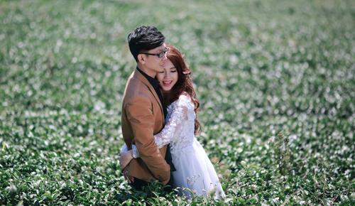 Đẹp mê hồn bộ ảnh cưới ngập tràn sắc hoa ngày xuân-4