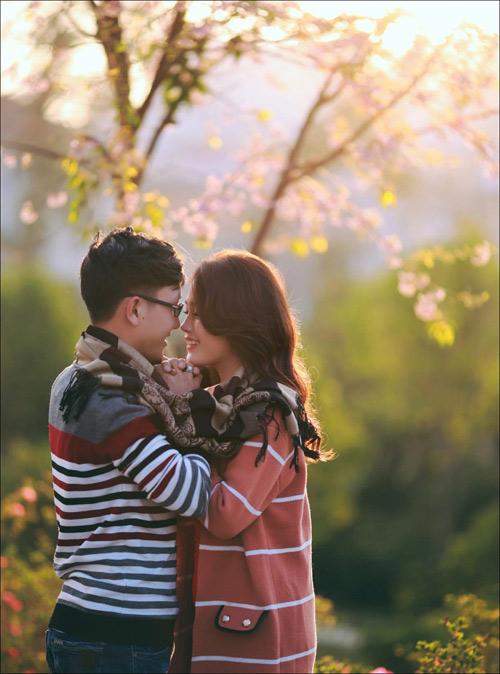 Đẹp mê hồn bộ ảnh cưới ngập tràn sắc hoa ngày xuân-18