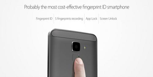 bluboo xfire 2: smartphone thiet ke kim loai, cam bien van tay voi gia chi 60 usd - 2
