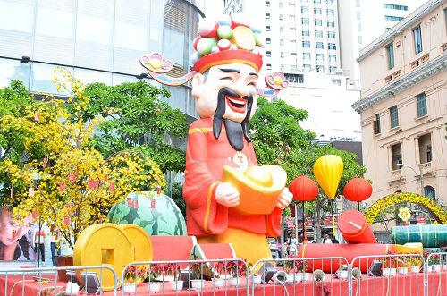 tp. hcm khoác 'áo mói' dón tét bính than 2016 - 7