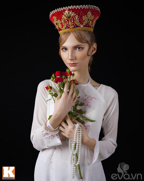 Chuyện tình yêu của cô gái Nga và áo dài Việt-9
