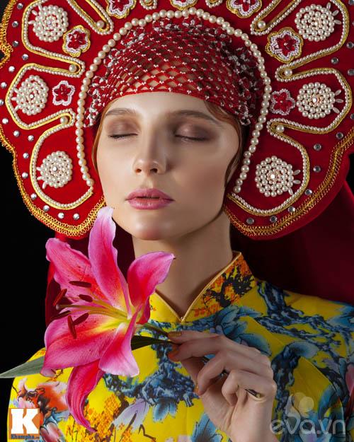 Chuyện tình yêu của cô gái Nga và áo dài Việt-4