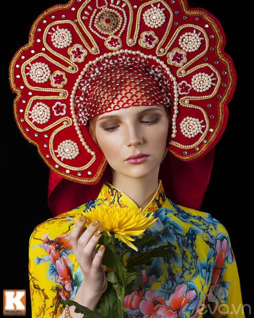 Chuyện tình yêu của cô gái Nga và áo dài Việt-3
