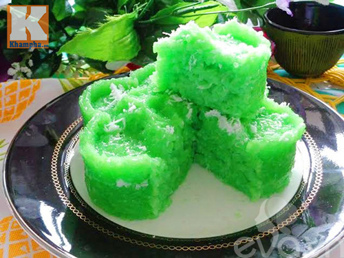 Xôi dẻo lá dứa nước cốt dừa béo ngậy thơm ngon-8