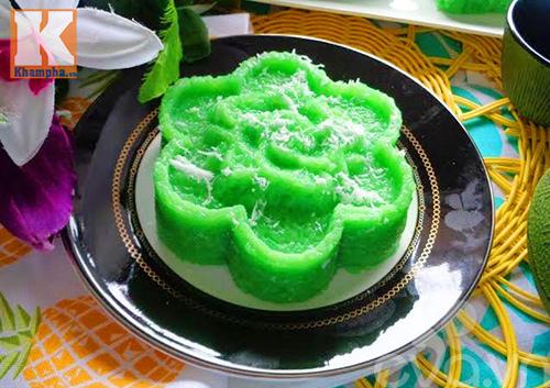 Xôi dẻo lá dứa nước cốt dừa béo ngậy thơm ngon-7
