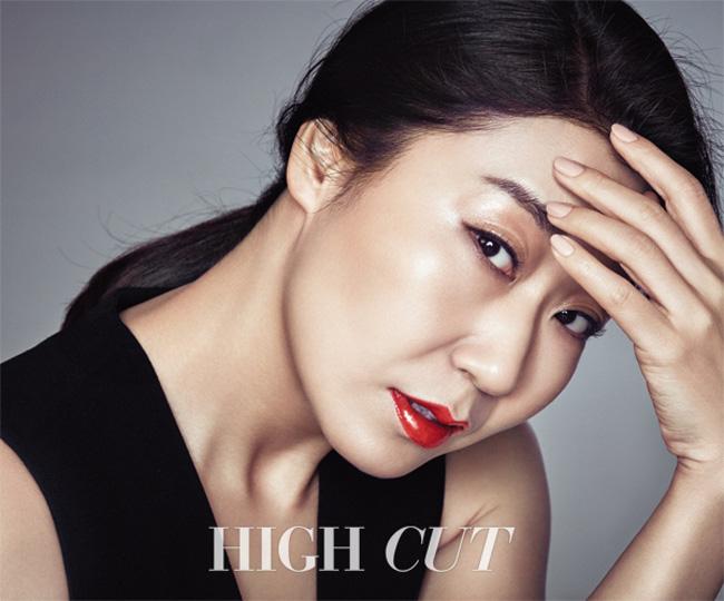 """lee min jung khoe nhan sac """"gai mot con"""" man ma - 8"""