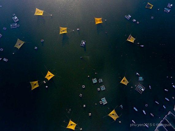 Bộ ảnh tuyệt đẹp về Việt Nam nhìn từ trên cao-16