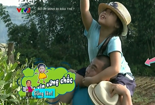 Những giây phút 'ngọt lịm tim' của bố con Minh Khang – Suti-2