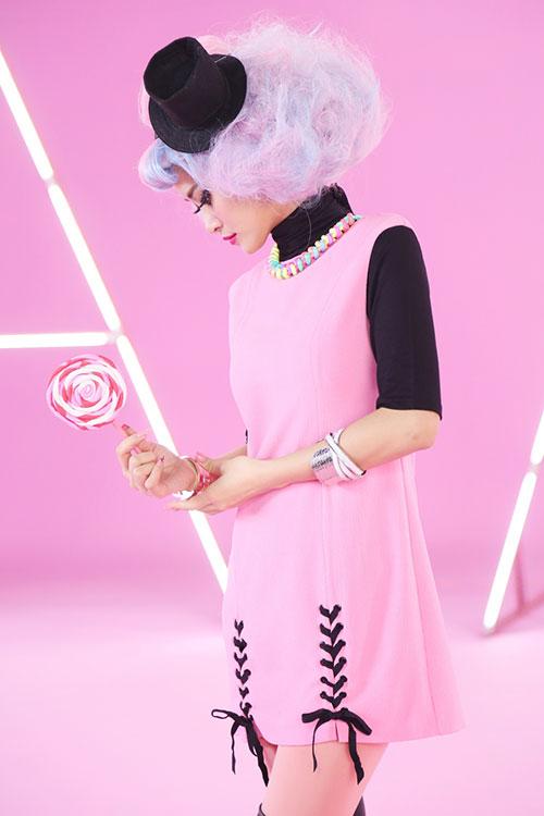 """Đông Nhi đầy cá tính với tóc hồng trong dự án """"Pink Girl""""-8"""