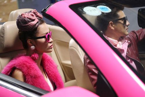 """Đông Nhi đầy cá tính với tóc hồng trong dự án """"Pink Girl""""-11"""