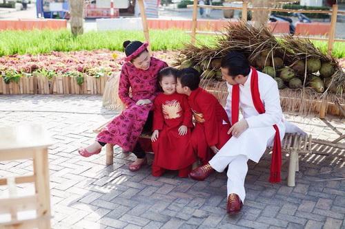 Hùng Cửu Long hạnh phúc khoe vợ mang bầu 3 tháng-5
