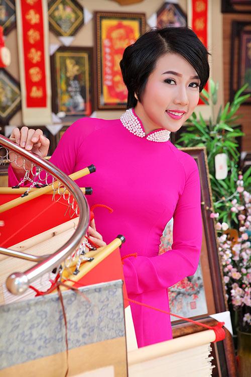 """""""me don than"""" thuy duong rang ro du xuan cung con gai - 8"""