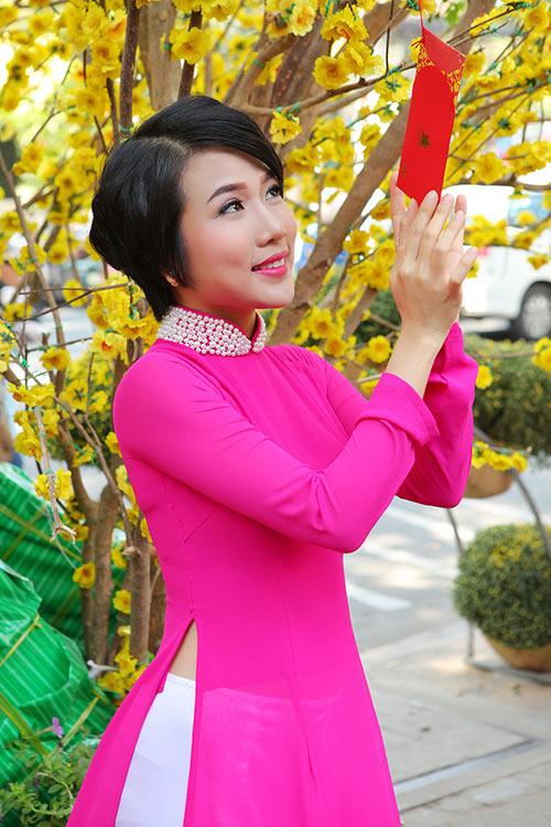 """""""me don than"""" thuy duong rang ro du xuan cung con gai - 2"""
