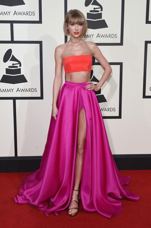 taylor swift khien fan tron mat vi mac tao bao tai grammy - 1