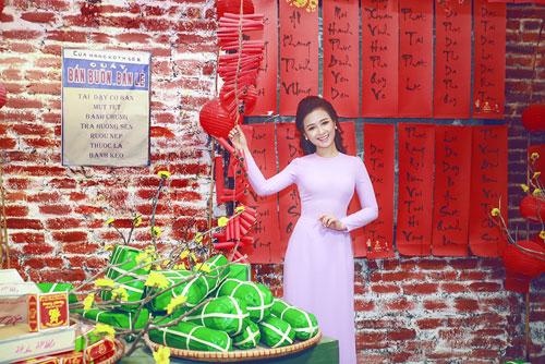 duong hoang yen, a khoi ngoc thanh no nuc ao dai don xuan - 3